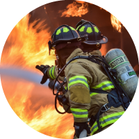 Svolávání dobrovolných hasičů